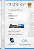 Hunter Premium partner 2017